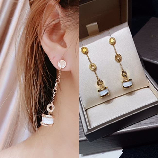 Long Bvlgari Earring