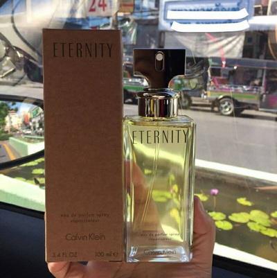 น้ำหอม CK Eternity for Women EDP 100 ml. (มีกล่อง)