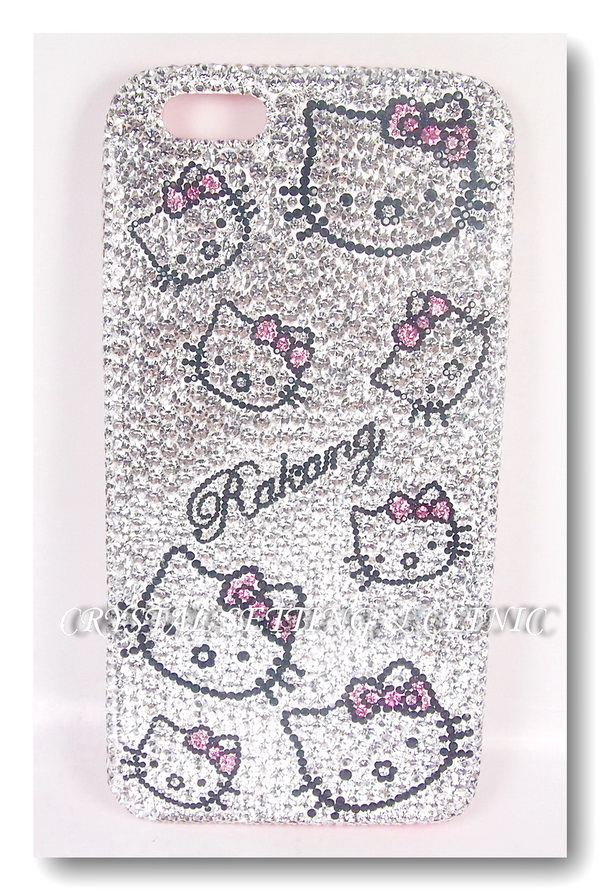 เคสมือถือ Apple Iphone 6+ รูปคิตตี้ ( Apple Iphone 6+ mobile phone case in Kitty Design )