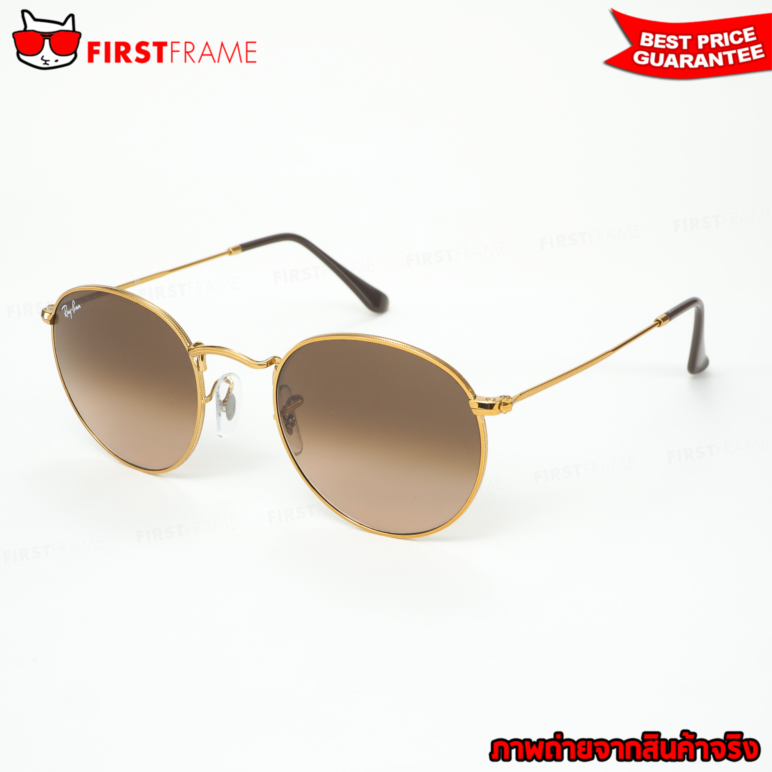 RayBan RB3447 9001A5 ROUND METAL 1