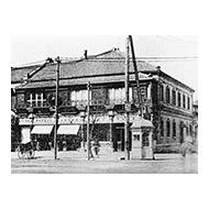 ชิเซโด้ที่อยู่ในย่านกินซ่าในปี 1872