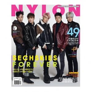 นิตยสาร NYLON 2016-12 แบบ B หน้าปก SECHSKIES ด้านในมี SEOHYUN (SNSD)