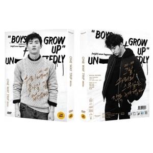 หนังเกาหลี - ONE WAY TRIP (2 DISC) แบบ A หน้าปก ซูโฮ exo และ Kim Hee Chan