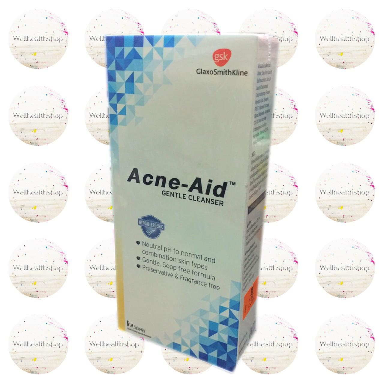 Acne-Aid Gentle Cleanser แอคเน่ เอด เจนเทิ่ล คลีนเซอร์