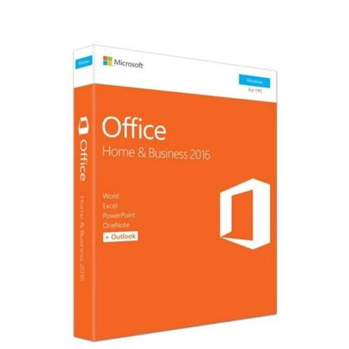 Microsoft Office Home and Business 2016 (T5D-02698) 32/64 English APAC EM DVD w/Thai SLP P2