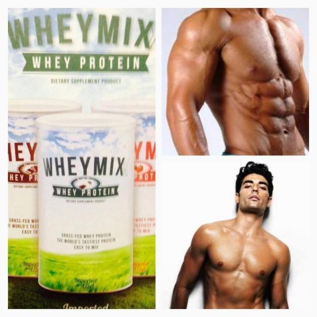 WheyMix Vanilla Flavor Whey Protein เวย์มิกซ์ วานิลลา เฟเวอร์ เวย์โปรตีน