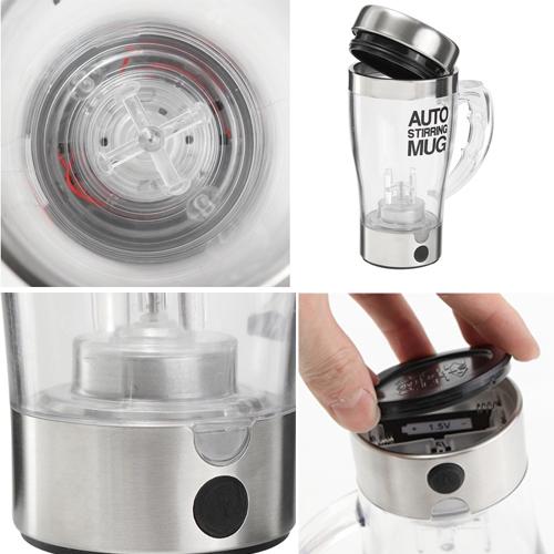แก้วปั่น เวย์ Self Stirring Mug