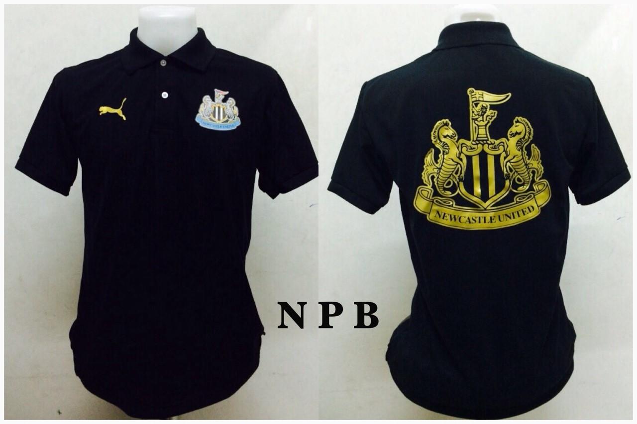 เสื้อโปโล นิวคาสเซิล ยูไนเต็ด 2014/2015 สีดำ NPB