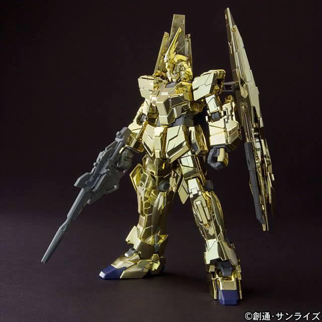 [Expo] HGUC 1/144 Unicorn Gundam Unit 03 Phenex (Unicorn Mode) Gold Coating Ver.