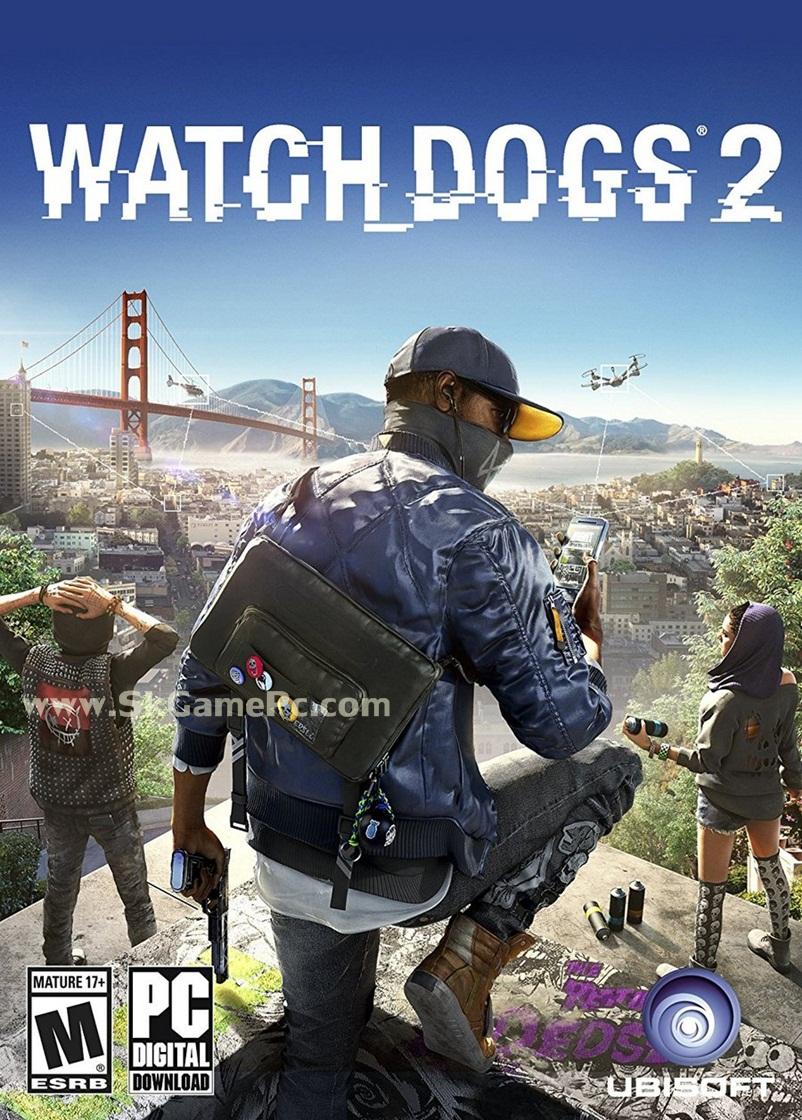 Watch Dogs 2 ( 7 DVD )