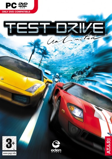 Test Drive Unlimited ( 1 DVD )