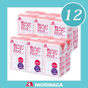 เซ็ท12กล่อง!!!!สวยใสไว ลดอายุได้จริง จดจ้องสะกดด้วยทุกสายตาในความเปลี่ยนแปลงของคุณด้วย MORINAGA COLLAGEN Drink 10,000 mg Japan