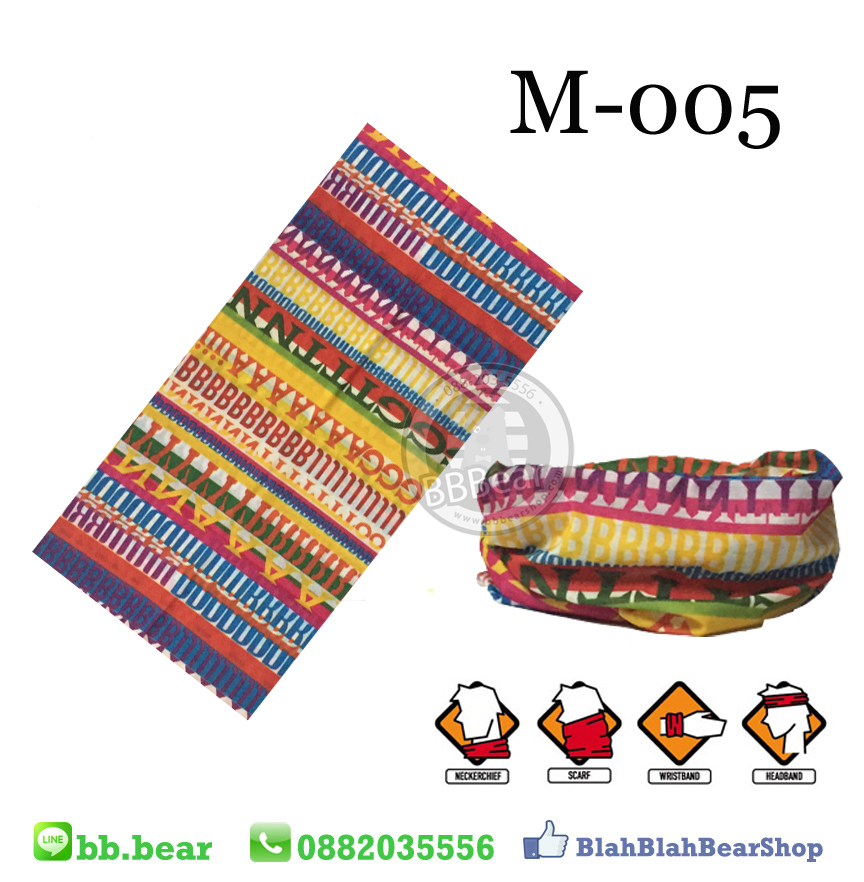 ผ้าบัฟ - M-005