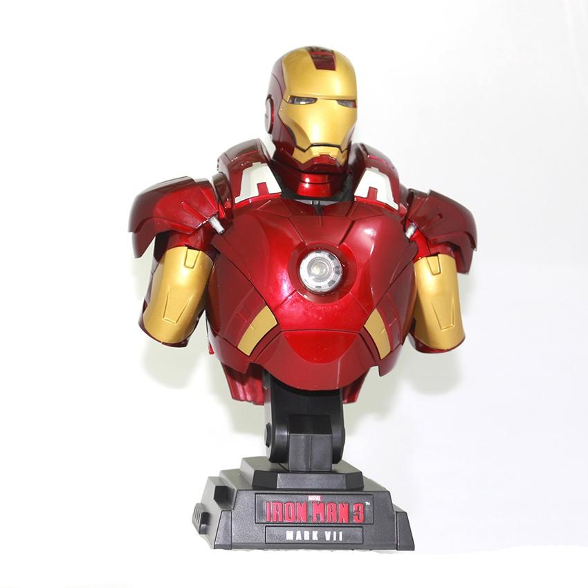 IRON MAN MK 7 BUST MODEL