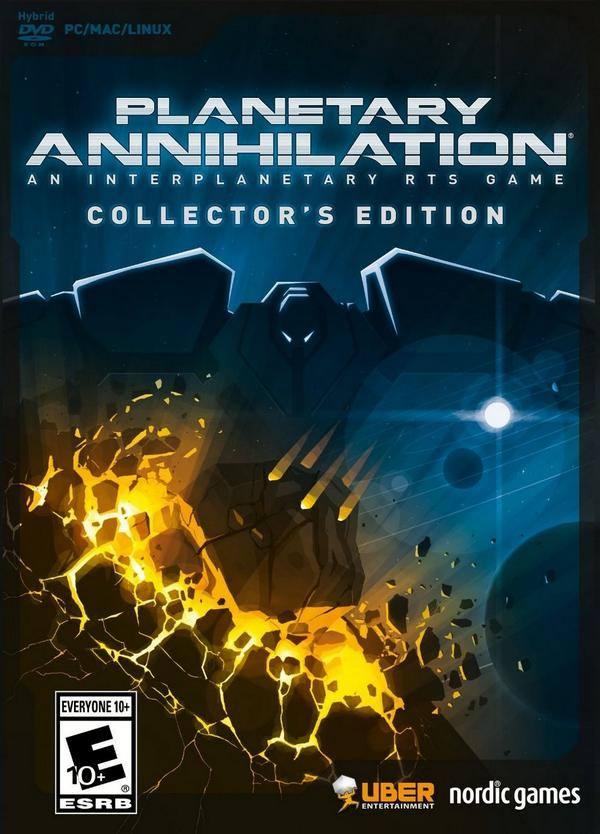 Planetary Annihilation ( 1 DVD )