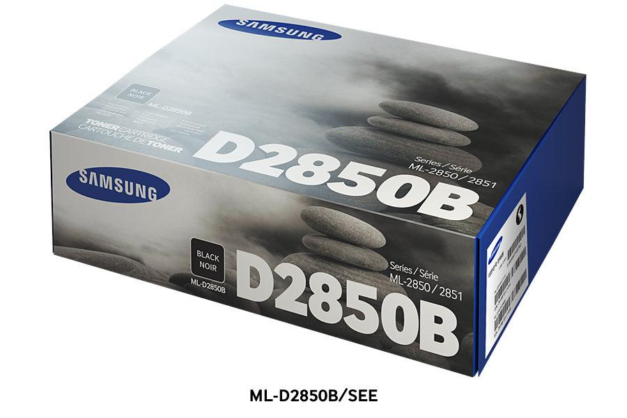 Samsung ML-D2850B ตลับหมึกโทนเนอร์ สีดำ ของแท้ Black Original Toner Cartridge (SU656A)