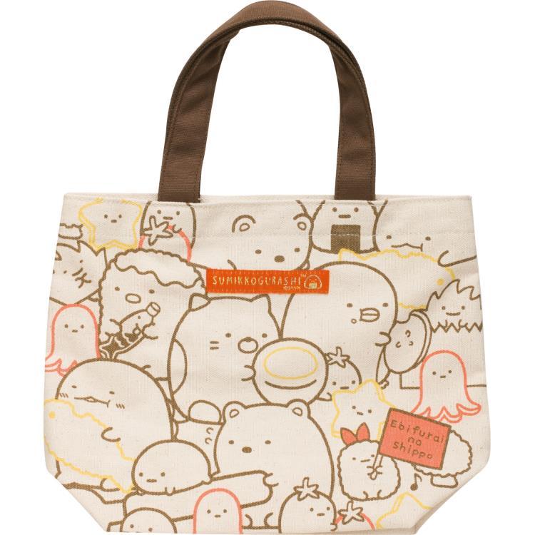กระเป๋าใบเล็ก Sumikko Gurashi สีน้ำตาล