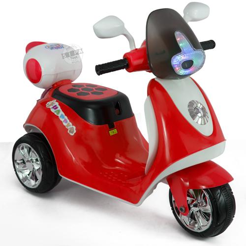รถมอเตอร์ไซค์ (รถแบต) สีแดง...ฟรีค่าจัดส่ง