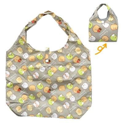 กระเป๋าพับเก็บได้ Sumikko Gurashi สีเทา