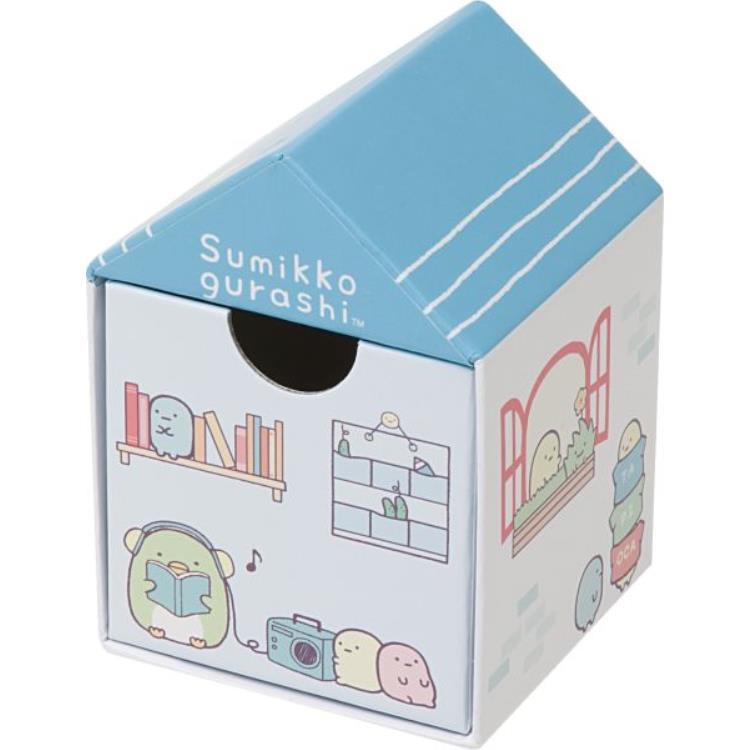 กล่องใส่ของ Sumikko Gurashi บ้านสีฟ้า