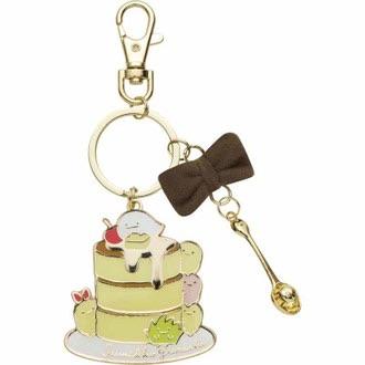 พวงกุญแจเหล็ก Sumikko Gurashi แพนเค้ก